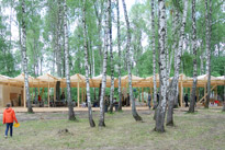 Kids' summer camp in Nikola-Lenivets