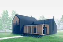 Black house | a small family cottage