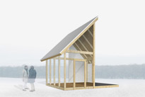 Halfhouse | pavilion for Museon park