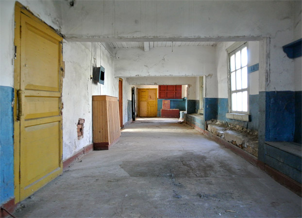 before renovation—interiors